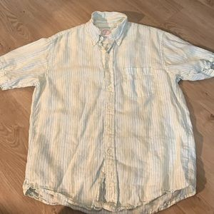 Brooks Brothers Linen Button Up